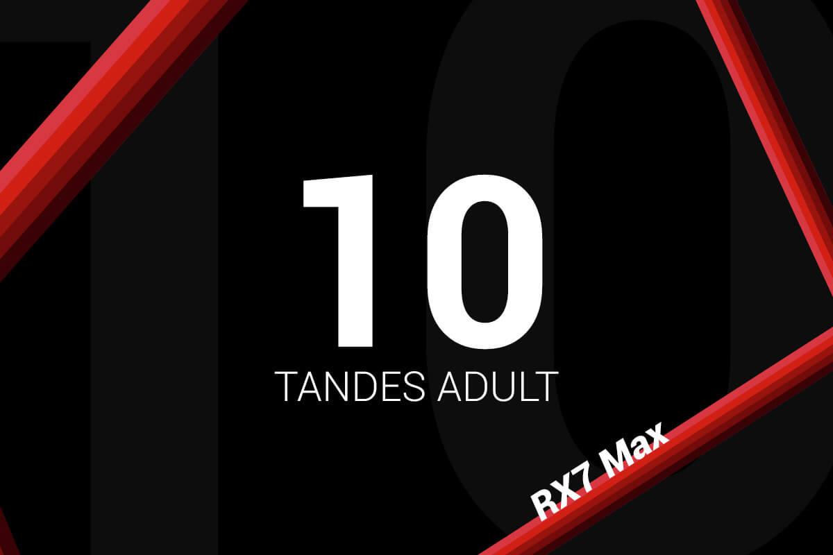Abonament 10 Tandes Sodikart RX7 Max