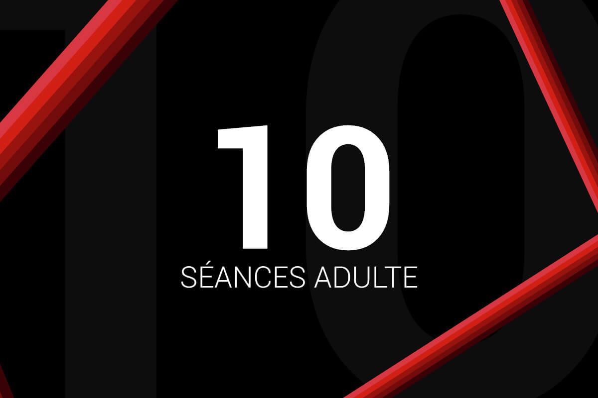 Forfait 10 Séances Adulte