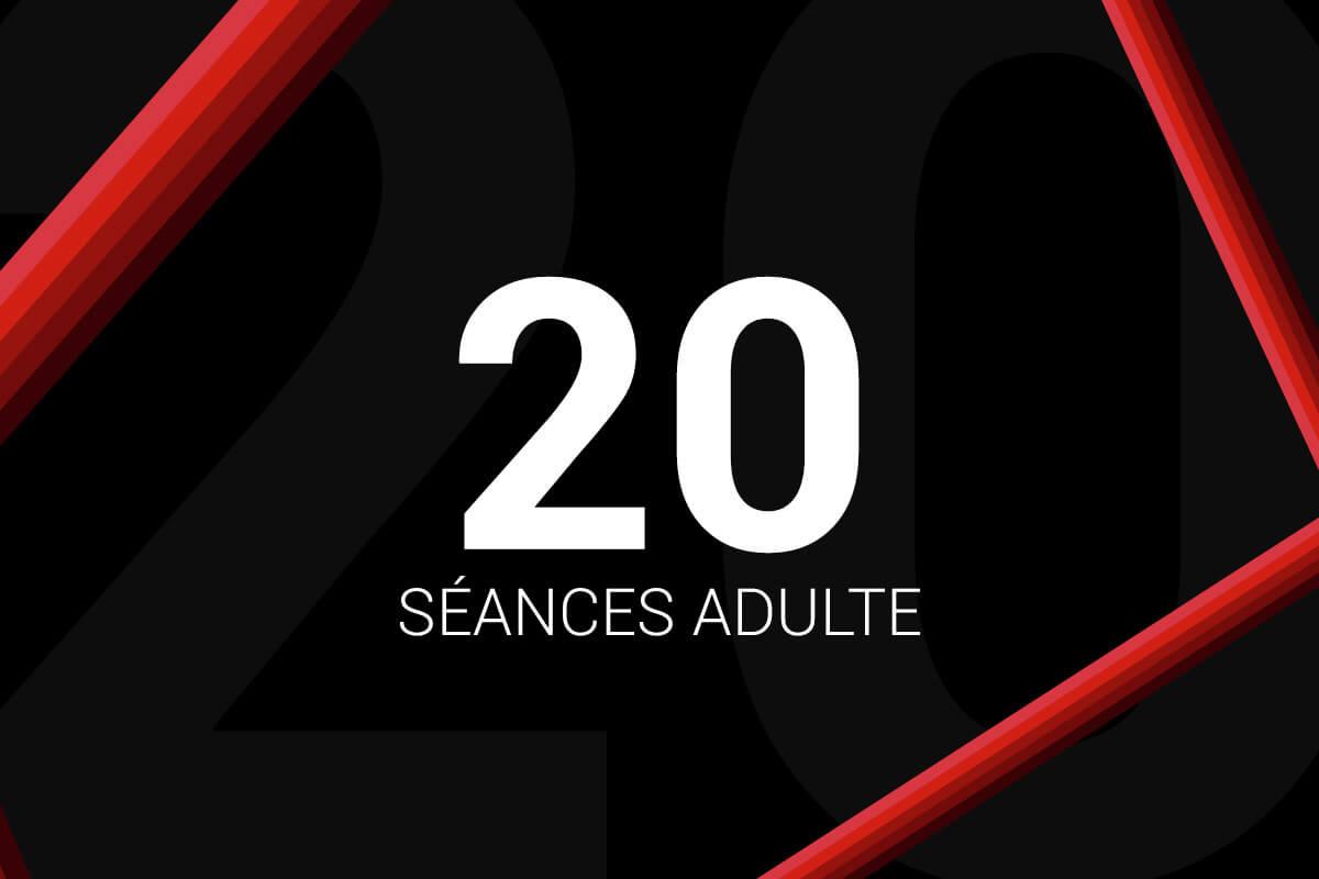 Forfait 20 Séances Adulte