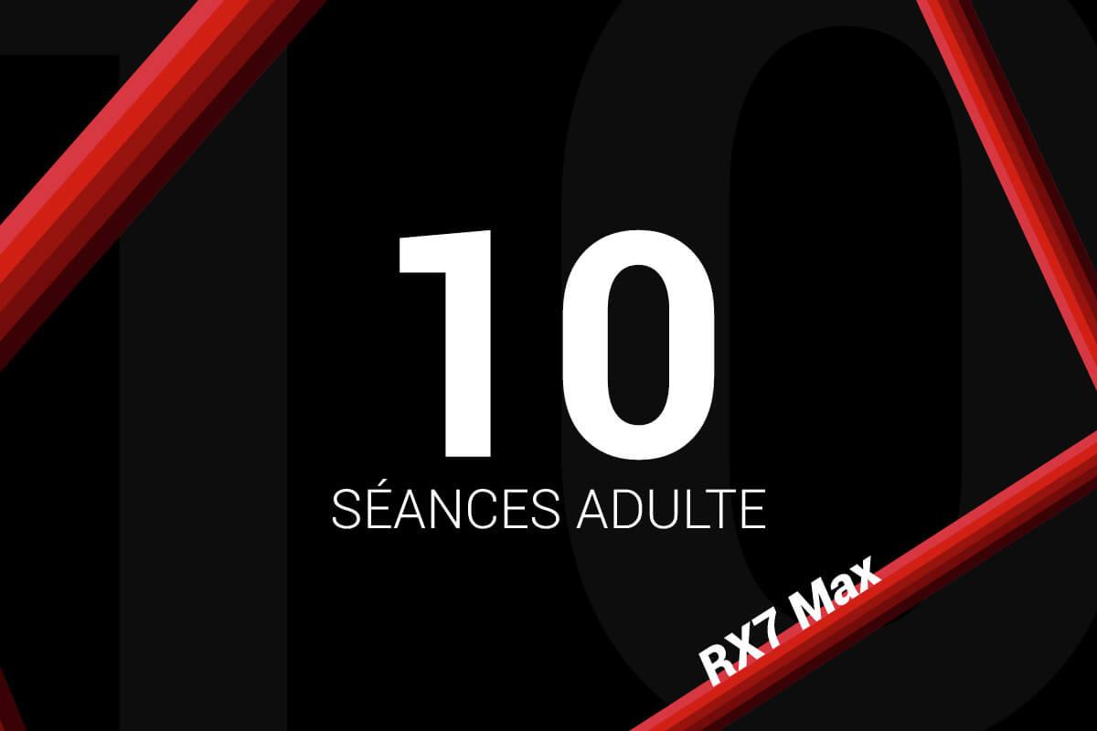 Forfait 10 Séances Sodikart RX7 Max
